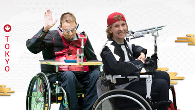 Doug Blessin and Lyne Tremblay will represent Canada in Shooting Para sport at the Tokyo 2020 Paralympic Games. (CNW Group/Canadian Paralympic Committee (Sponsorships))