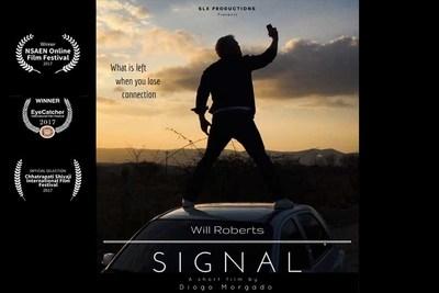 NewsBlaze Partner Will Roberts Wins Best Dramatic Actor For Signal.