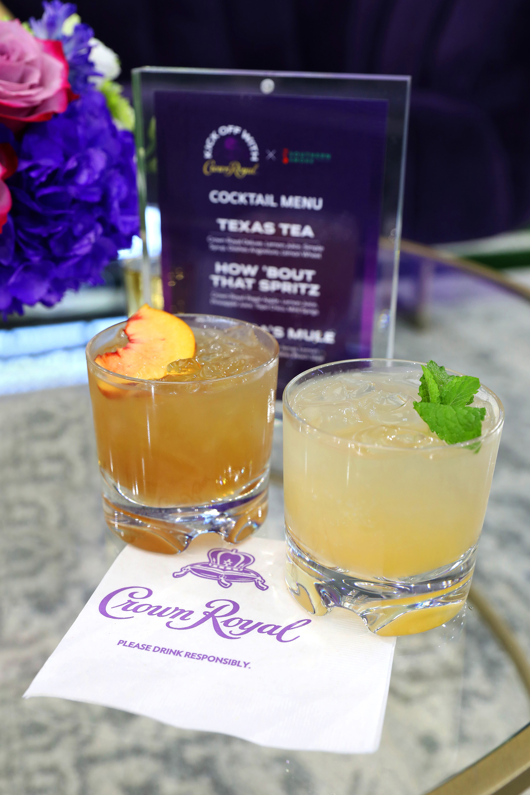 To kick off the start of the NFL regular season, Crown Royal and Southern Smoke Foundation hosted a special Industry Night of Service for hospitality and stadium workers at the home of the Dallas Cowboys, AT&T Stadium on Wednesday, September 8.