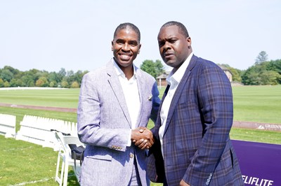Fortis Lux Financial, Reginald Canal, President of Sports & Entertainment Division and Greg Domond, Co-President of Sports & Entertainment Division.