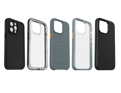 LifeProof WĀKE, NËXT and SEE cases for iPhone 13, iPhone 13 mini, iPhone 13 Pro, iPhone 13 Pro Max, featuring recycled materials, are available now on lifeproof.com, and a colorful assortment of waterproof FRĒ and FRĒ with MagSafe cases will be available soon.