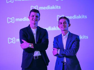 Kieran O'Brien and Casey Adams, Co-Founders of MediaKits.com. Photo credit: Michael Friberg.